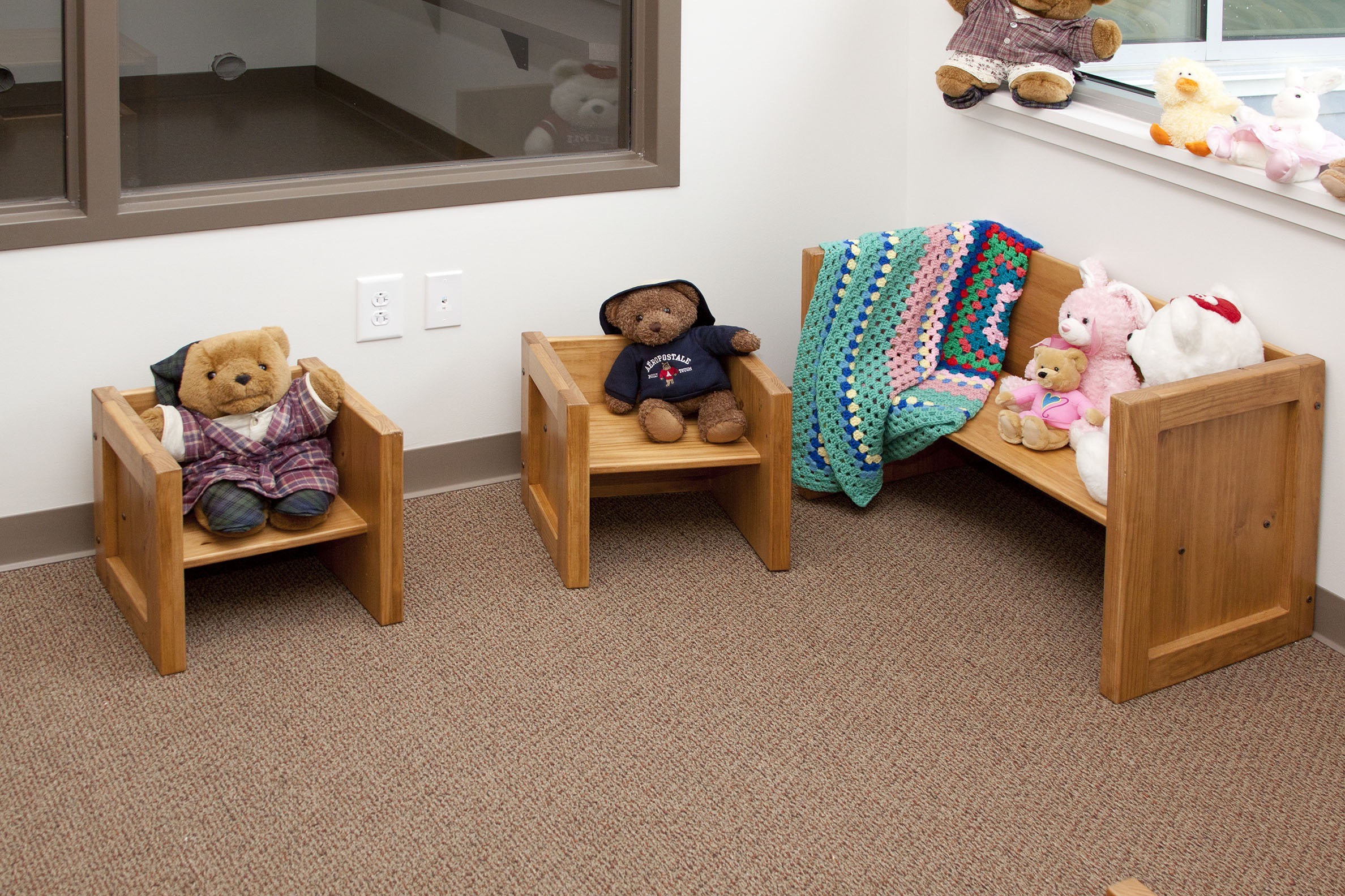 Children's crate style furniture
