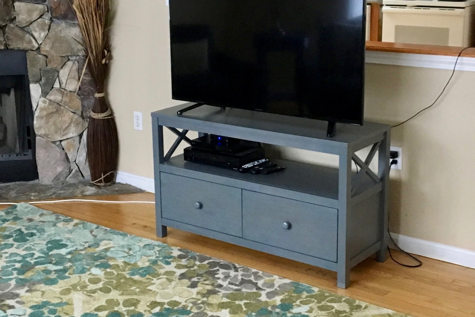 CROSSINGS MEDIA UNIT IN DRIFTWOOD ON LOCATION IN RESIDENCE FOR PEOPLE LIVING WITH AUTISM - Contract Price Standard FInish $521 or premium (shown above) $594