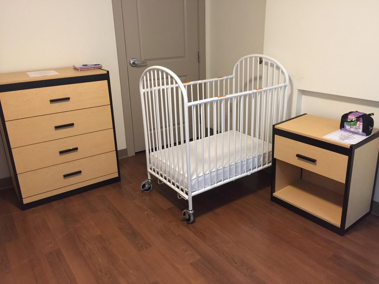 ferrante case goods, crib