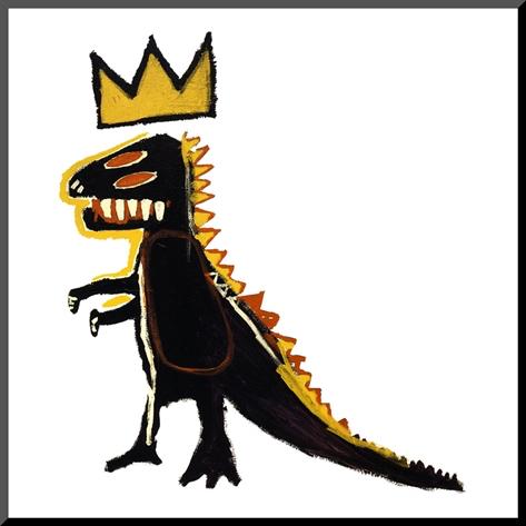 Pez dispenser 1984, Basquiat
