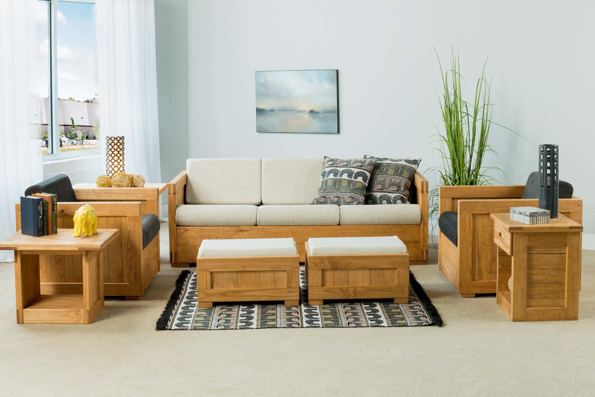 CLassic Line Furniture in Honey pine