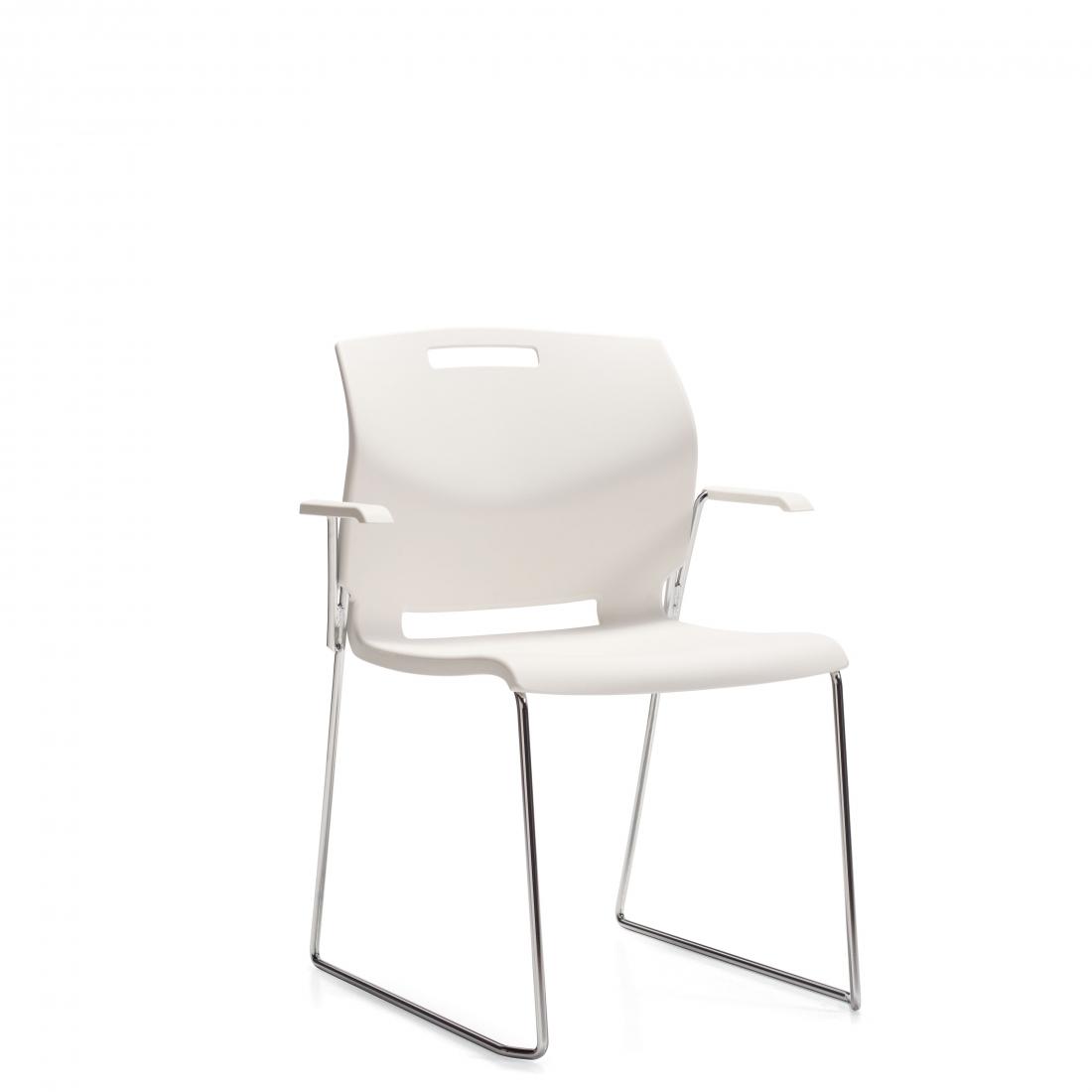 Popcorn arm chair