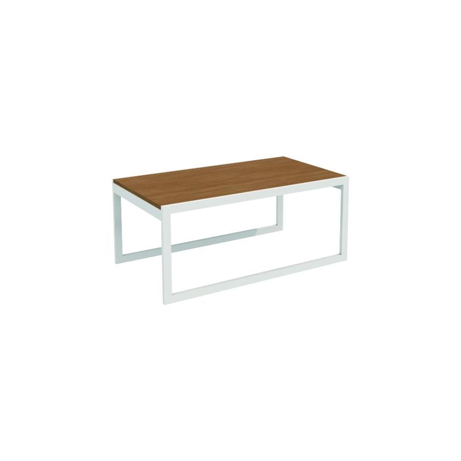 Ferrante Coffee Table Silver Frame