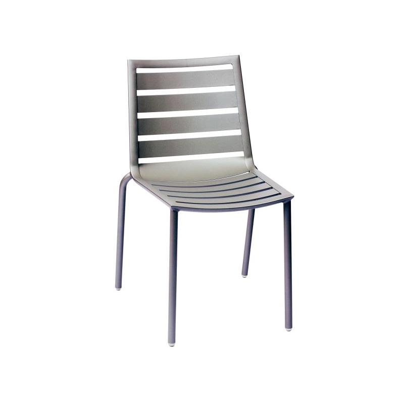 Hampton Side Chair Titanium Finish