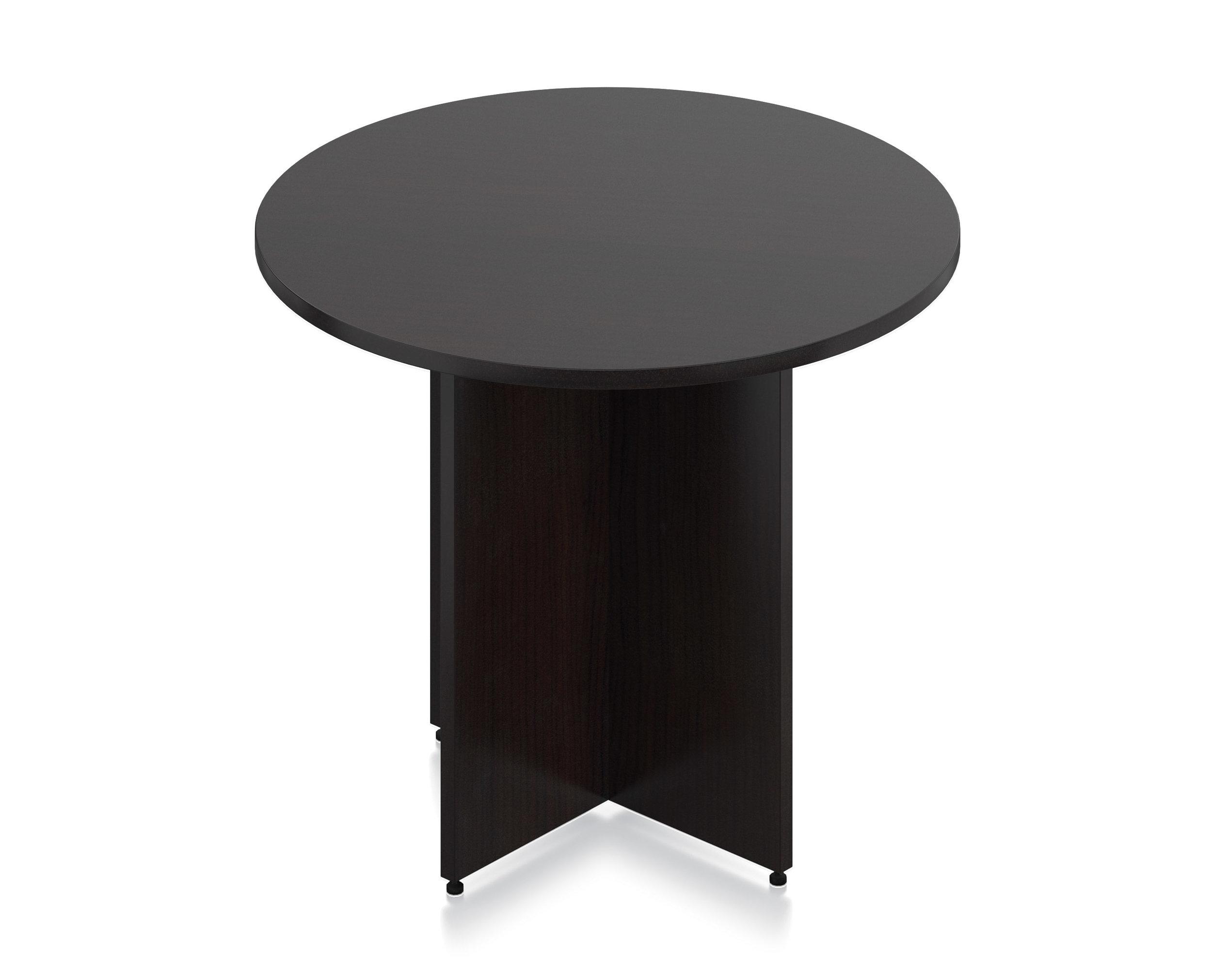 """36"""" Round Table SL36R AMerican Espresso"""