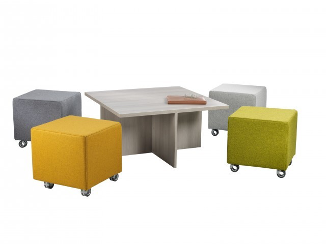 Table Seating Option A) 2 Volker Nesting tables