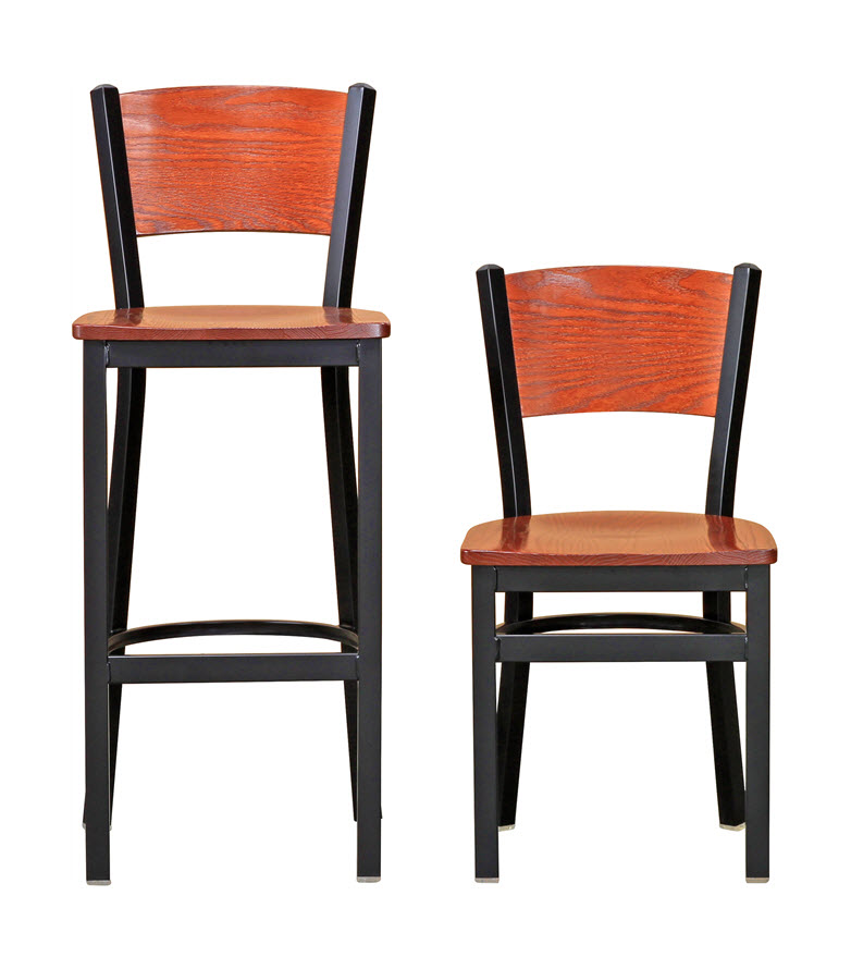 Janine stool, option for cafe seating