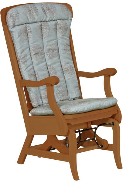 Rocker quoted with side panels and cushions