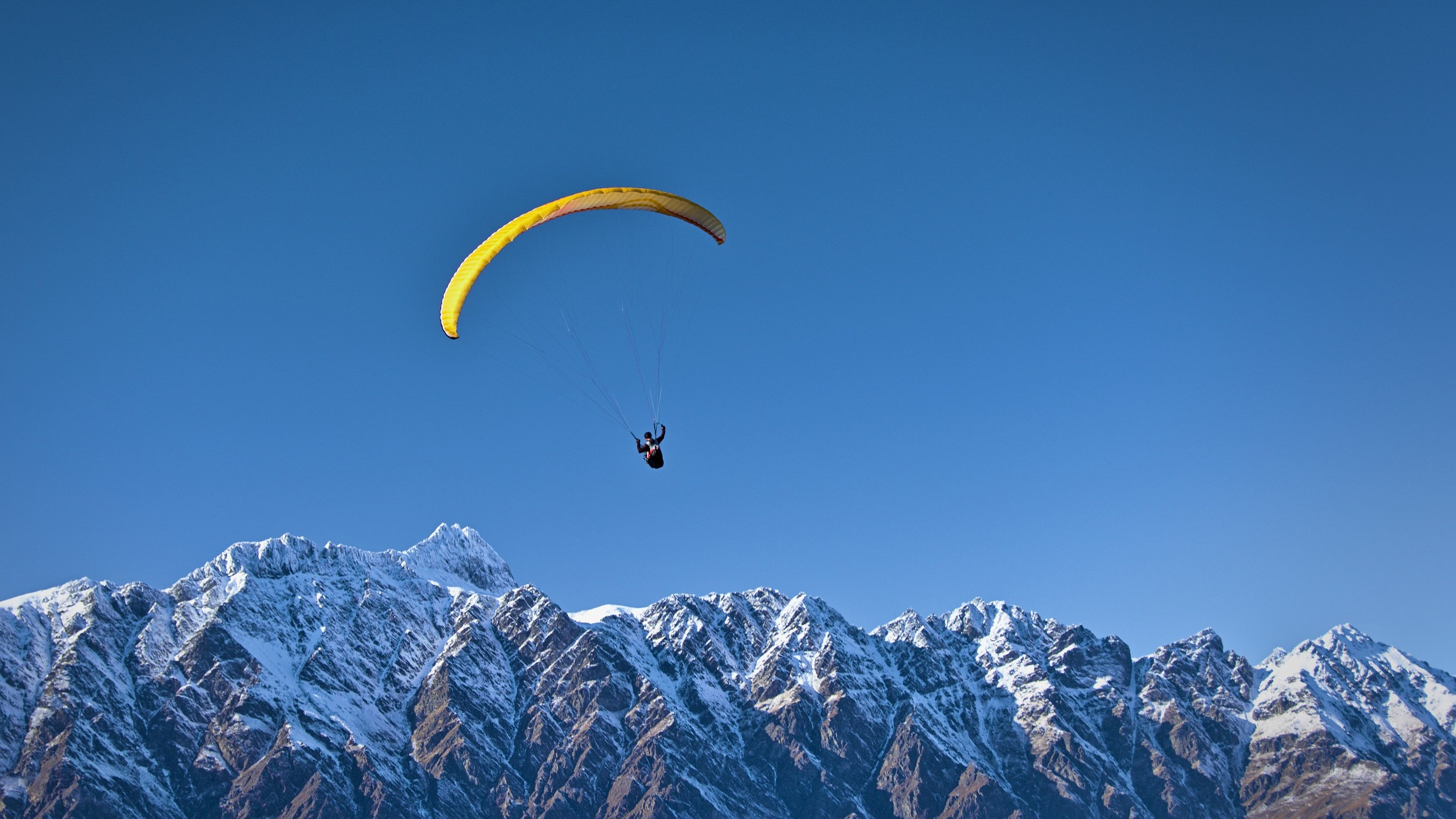 To soar, you'll need your voice to first be healthy, then, for it to be free. ©Thomas Sobek, Queenstown, NZ.