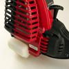 Troy-Bilt trimmer - Rear of unit on plastic cowling.