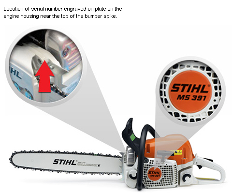 Stihl chainsaw.
