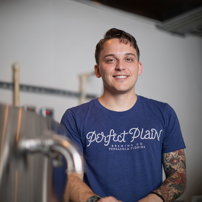 reed odeneal  perfect plain brewing company pensacola, FL