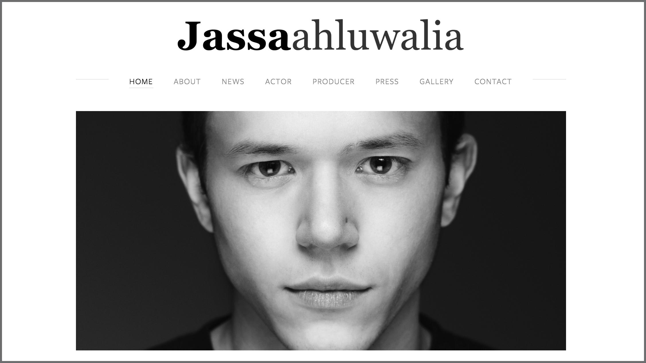 JASSA AHLUWALIA / actor