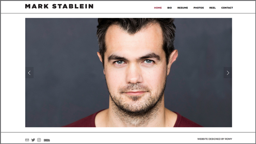 MARK STABLEIN / actor