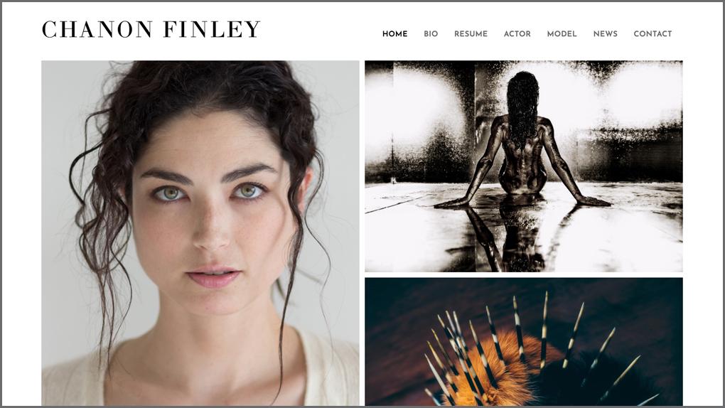 CHANON FINLEY / actor, model