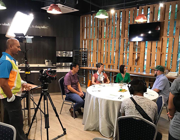 Channel News Asia interview with my patient