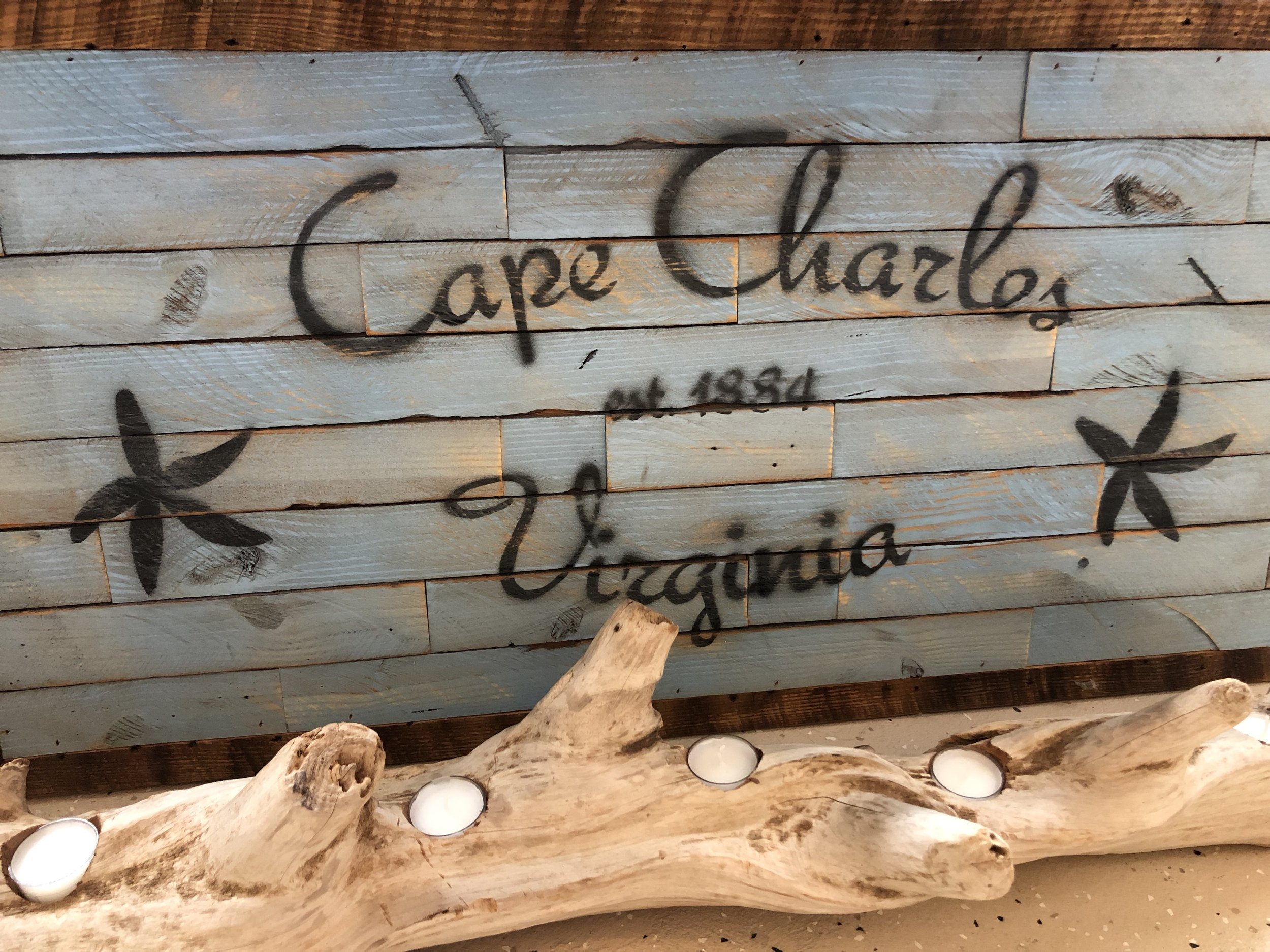 Driftwood Creations by Mike Celli - Local Driftwood & Reclaimed Wood placed together to create one of a kind Home Decor.