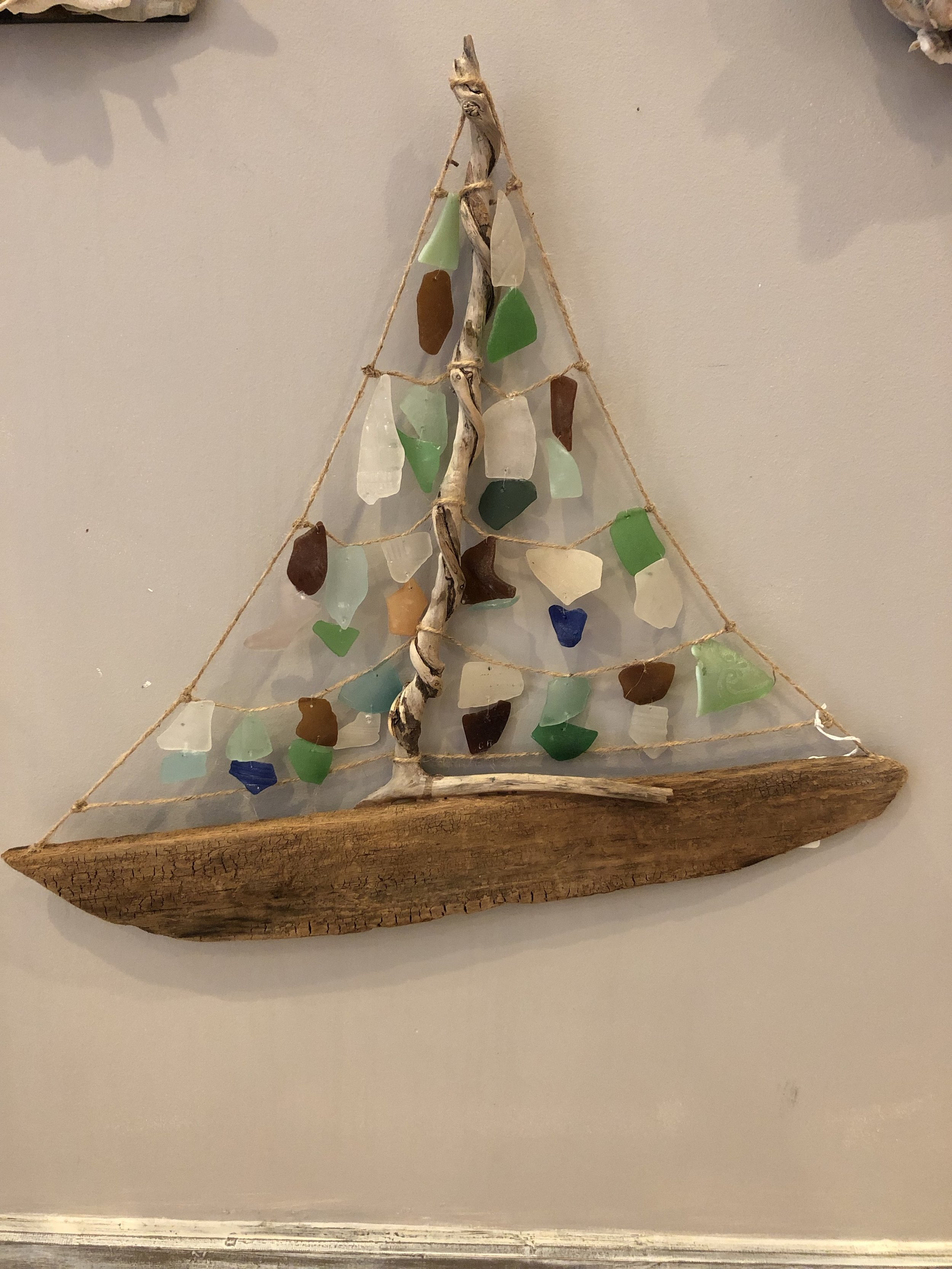 Sea Shore Art by Kym - Unique Items made from Shoreline findings!