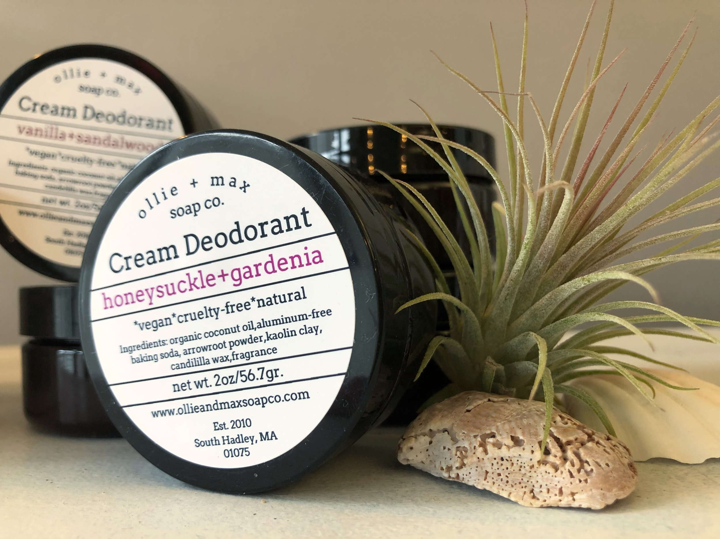 Naturally Made Deodorant Creams -