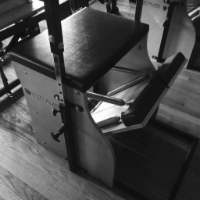 The Stability chair, also know as a Wunda Chair, can be a really challenging piece of equipment because exercises are more upright, with a smaller base of support.