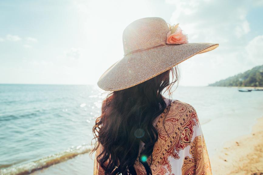 woman on beach-bali-explore-self expression