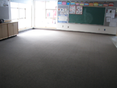 Nursery Classroom prior to remodel