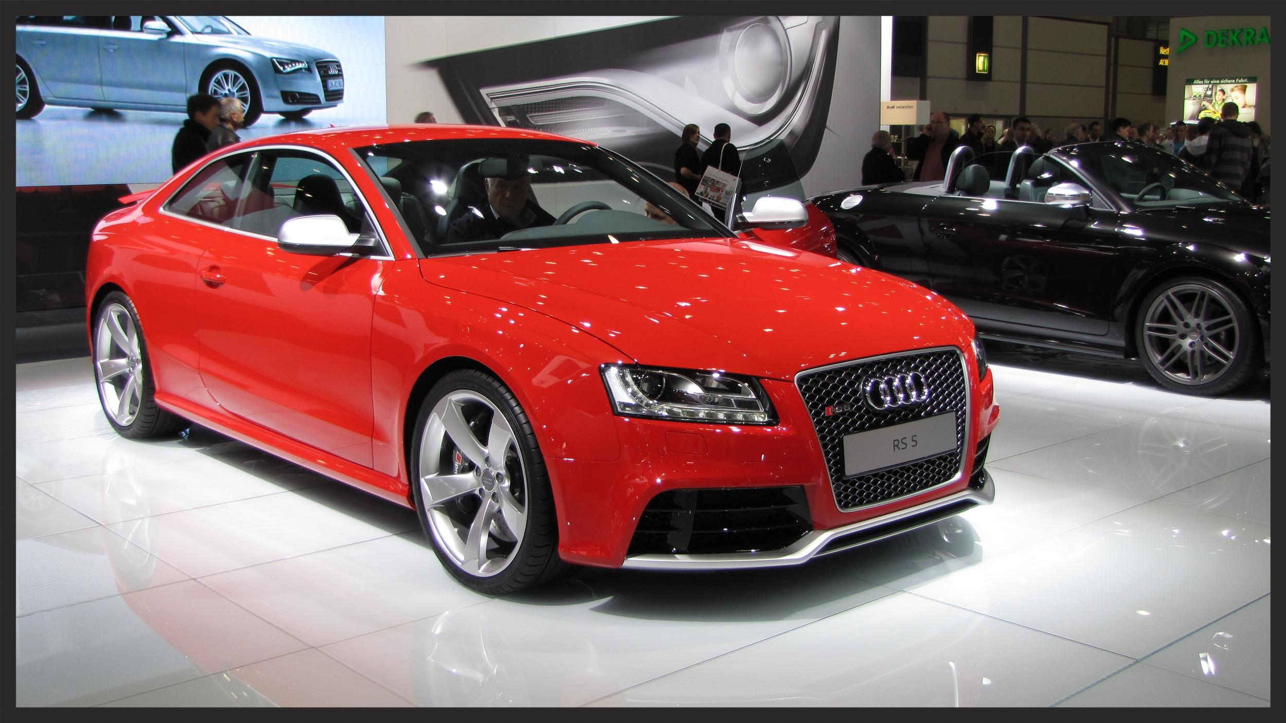 Audi Ice Driving