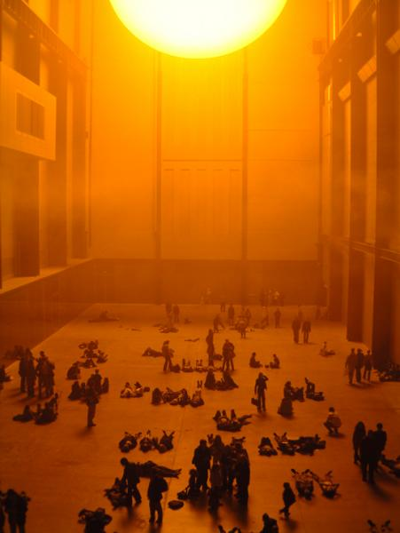 """""""The Weather Project"""" at the Tate Modern."""