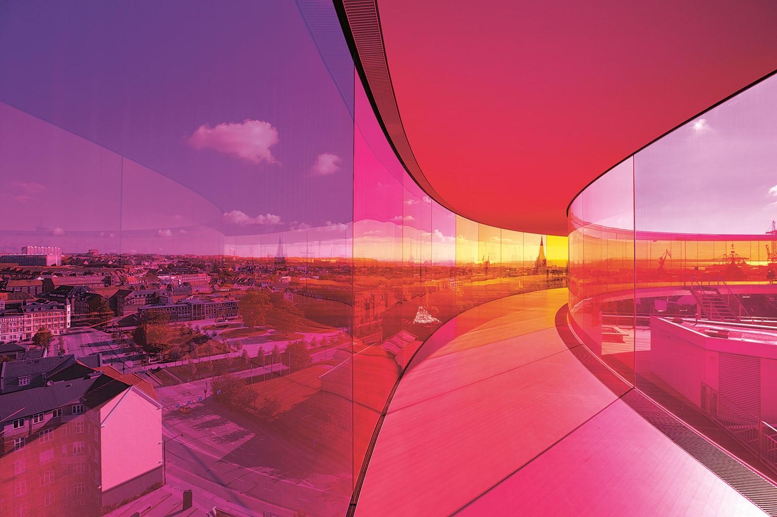 """Your Rainbow Panorama"" at ARoS Aarhus Kunstmuseum"