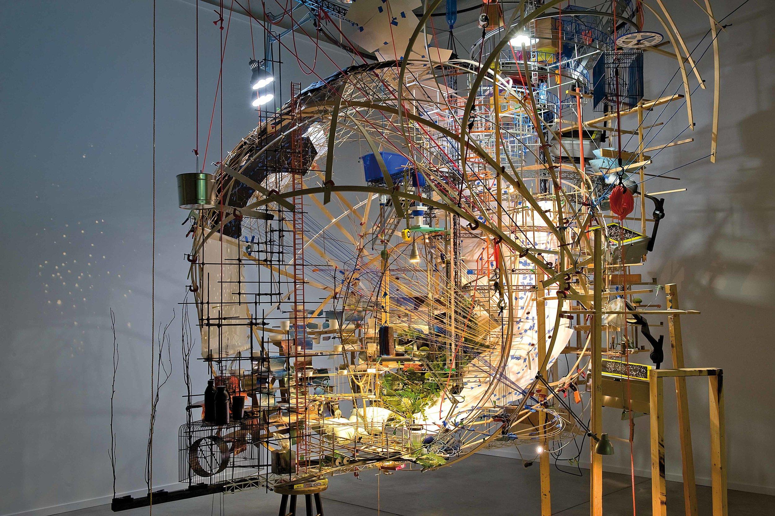 """Portable Planetarium,"" currently at Boston Museum of Arts."