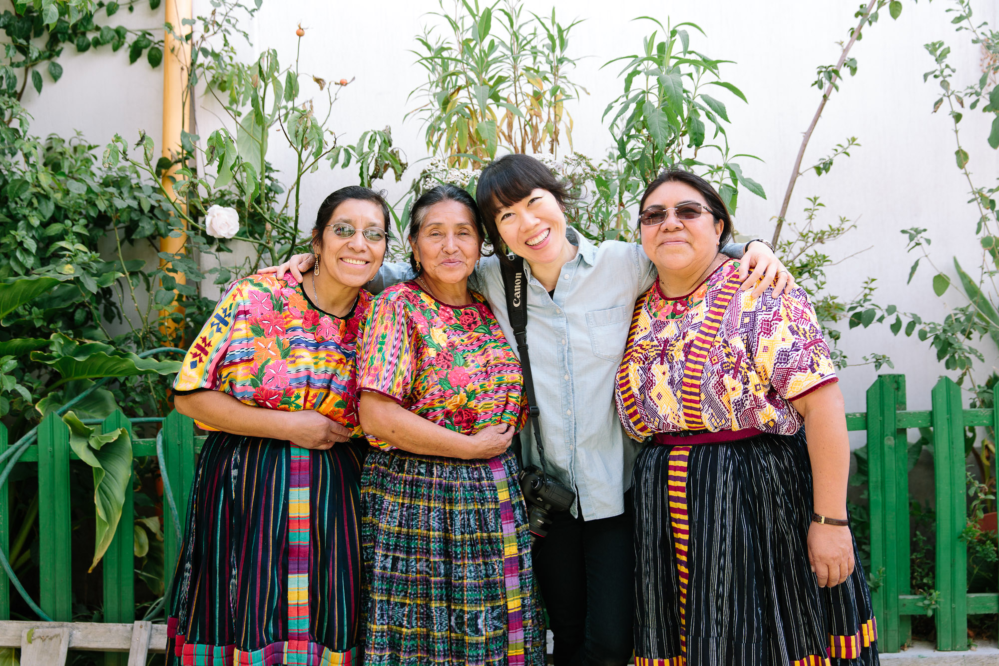 These ladies belong to CODECOT, a group that trains and supports a network of 800 midwives around Quetzaltenango.