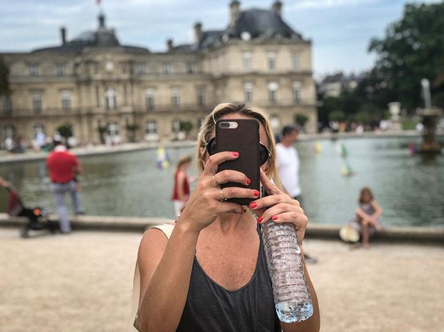 Spent the past week bouncing all over Paris with this fun, thoughtful & creative woman. I saw new fun sides to her (as well as her almost running her bike into a car at the Louvre). Very grateful to get to do trips like this and to have a friend in my sister, @bwertz 🇫🇷