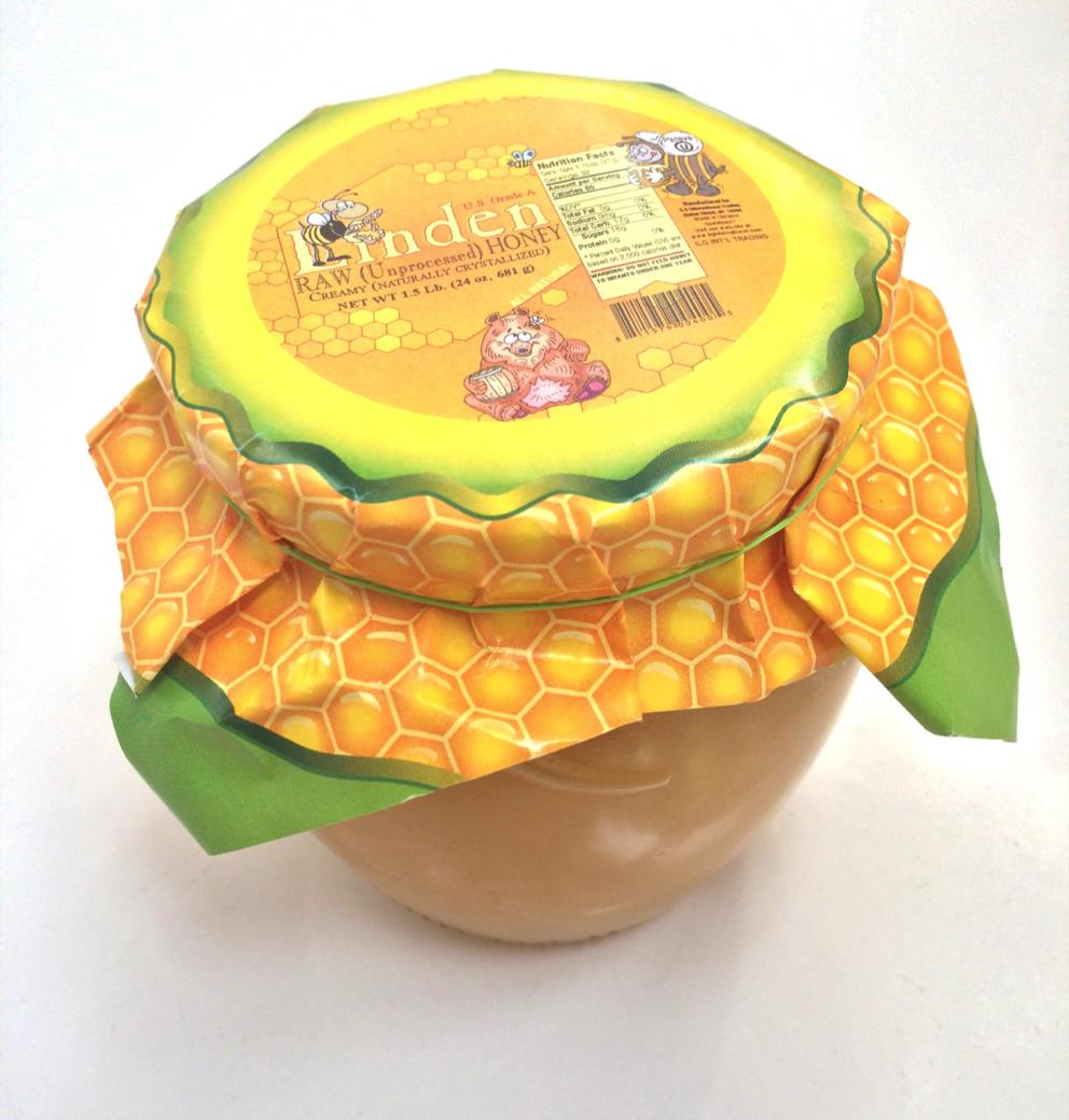 Linden Raw Unprocessed Honey
