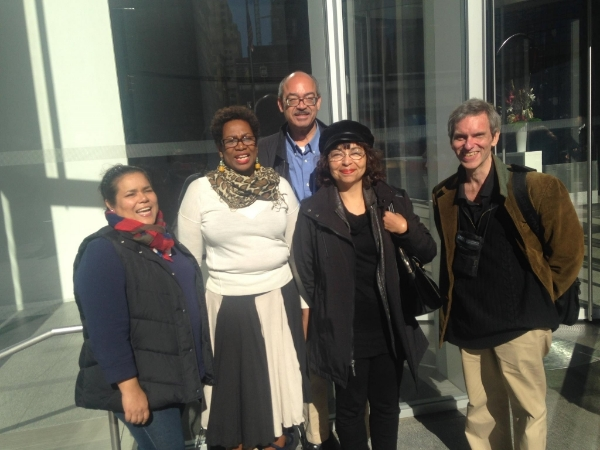 Group photo after meeting with HRA to discuss the critical issue of customer service in the Centers!