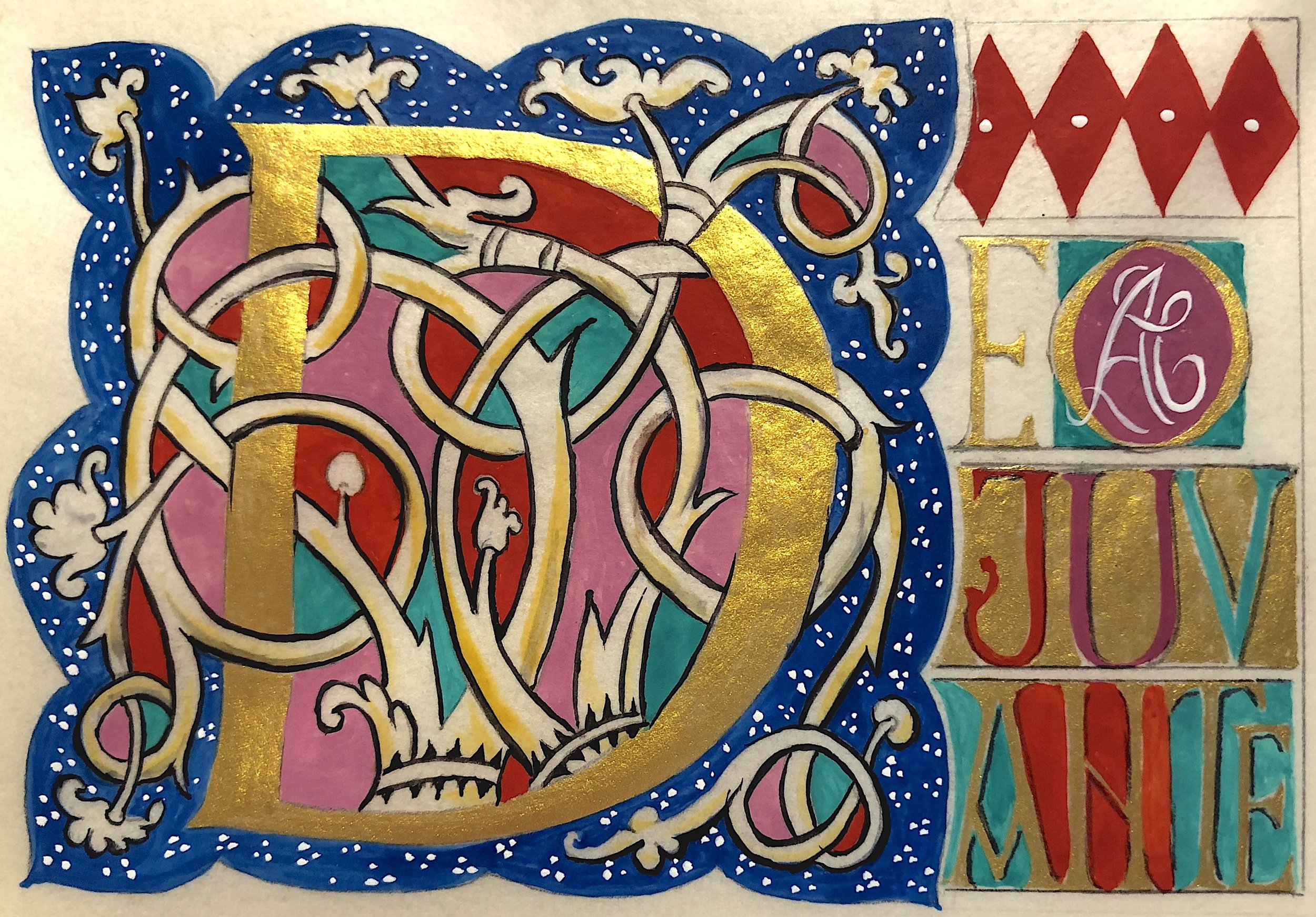 "White Vine"" Manuscript Illumination Workshop — Trinity Church"