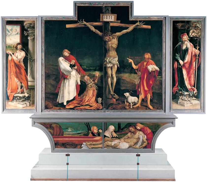 The Isenheim Altarpiece , Nikolaus Haguenau  &  Matthias Grünewald, 1512–1516