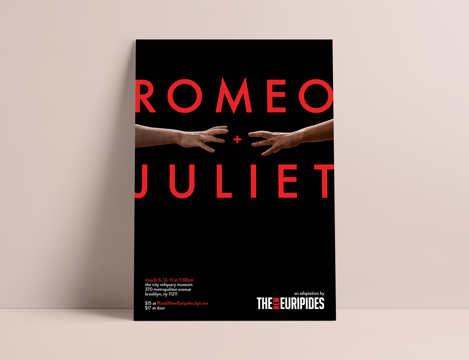 'Romeo + Juliet' at the   The City Reliquary Museum in Brooklyn, NY