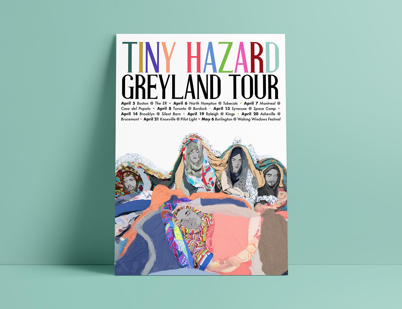 Tiny Hazard North American tour