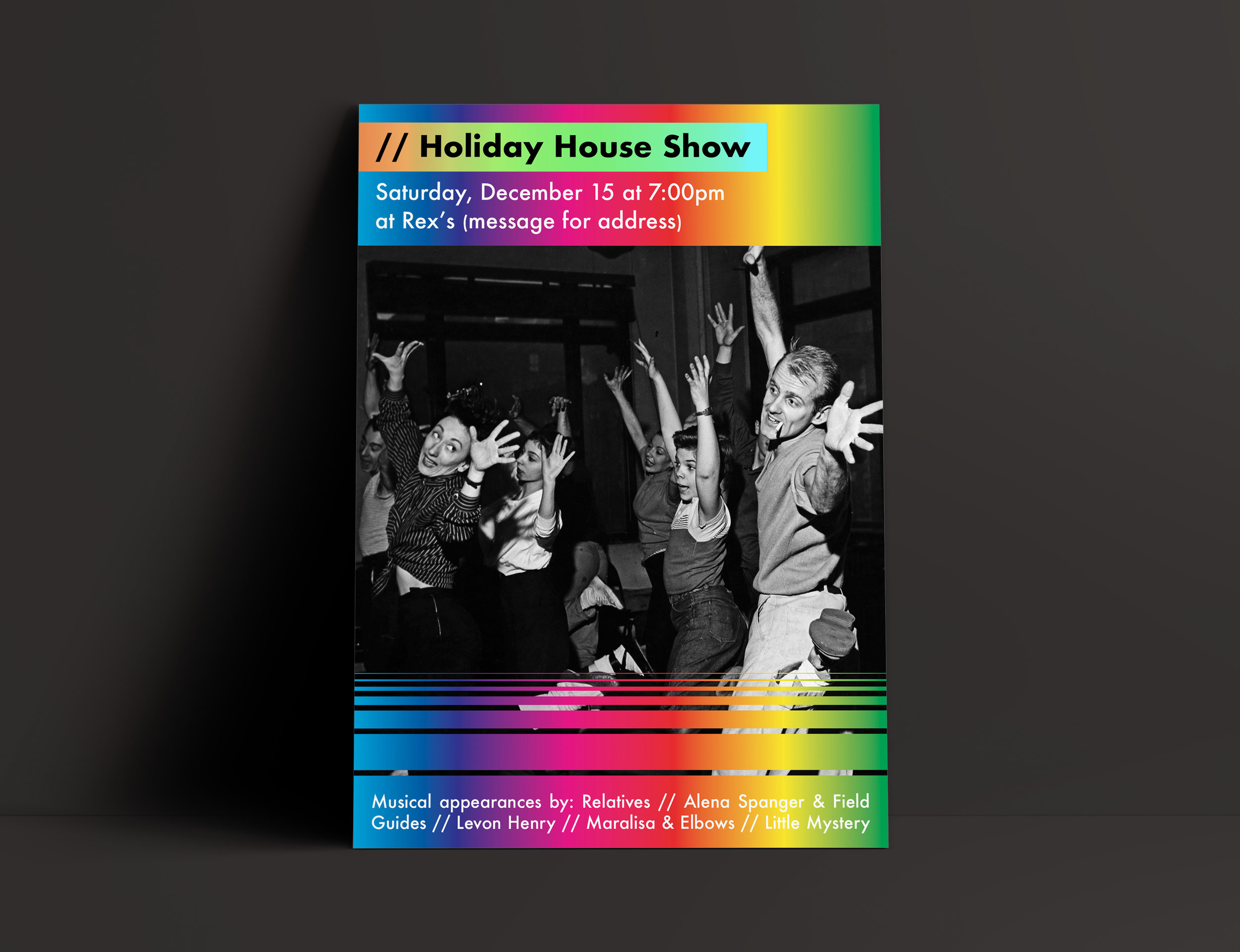 Holiday house show