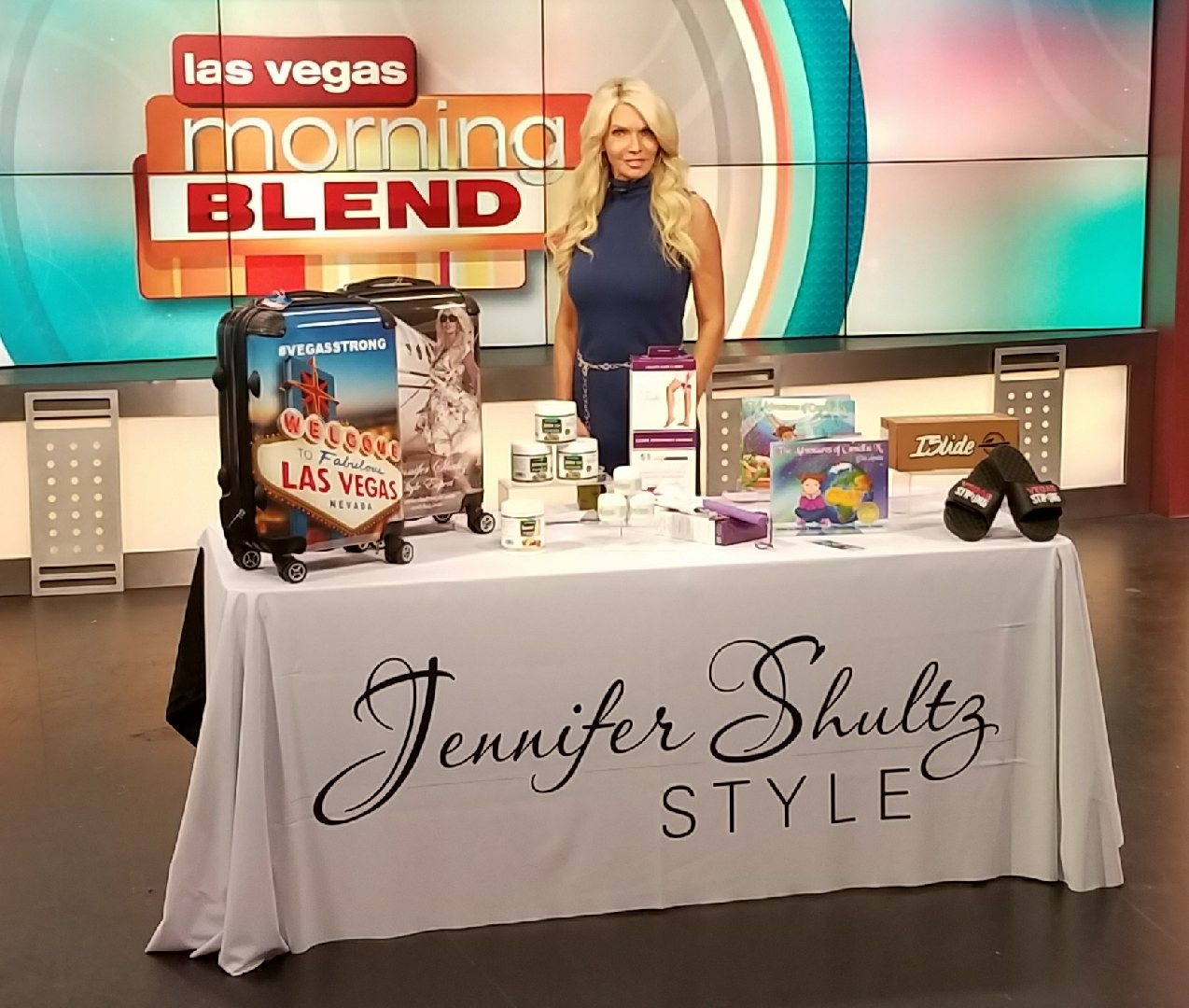 - Camellia N. is making moves! Straight from NYC, she stopped by KTNV The Morning Blend Tuesday, November 8th with Jennifer Shultz!A portion of proceeds made from sales are being donated to the Las Vegas Victims' Fund. I hope you watch this segment and choose books for yourself or as a gift for the holidays! Let's support Las Vegas and help raise funds!