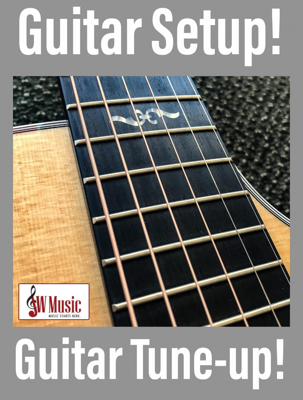 Guitar Tune-ups at JW Music!
