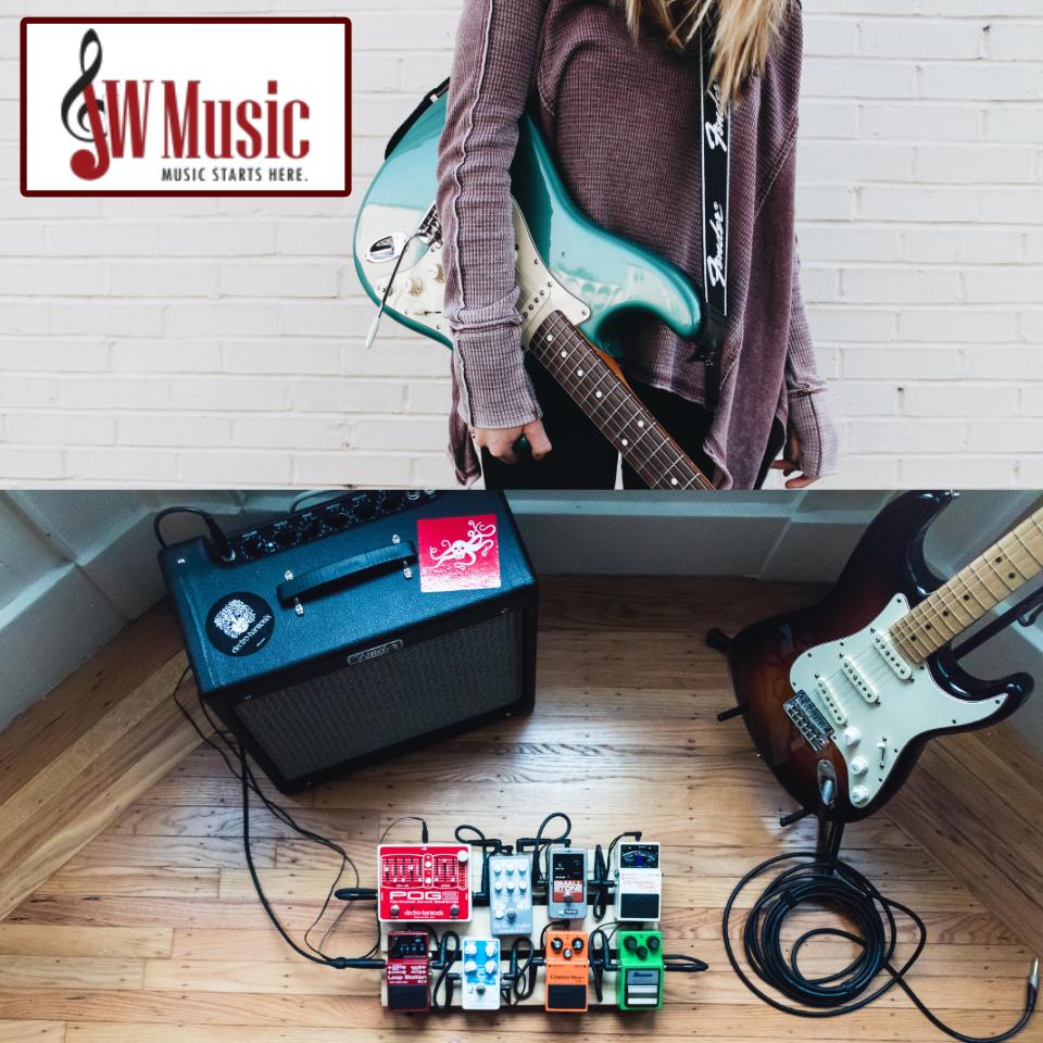 JW Music: New year, new guitar!