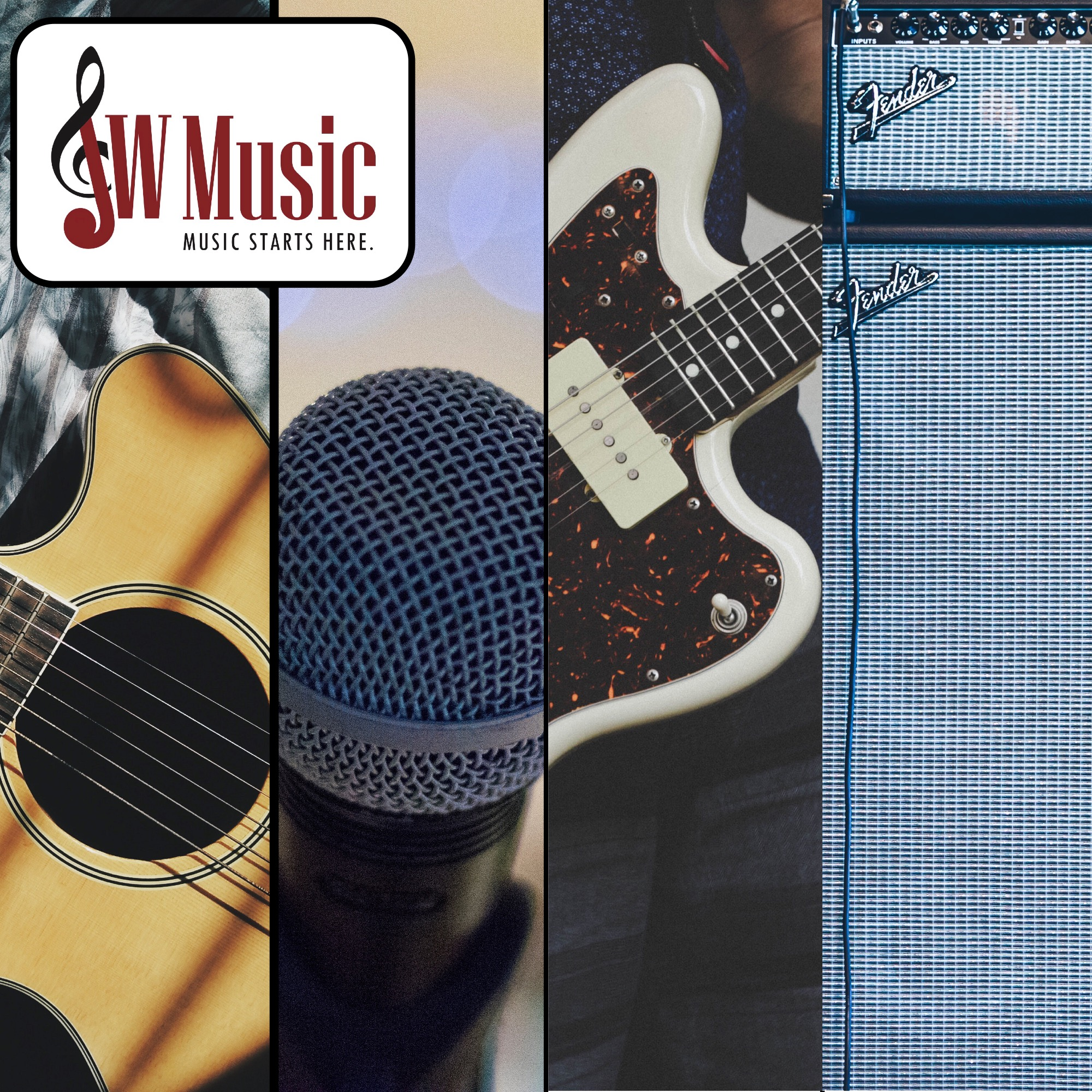 JW Music will match or beat any advertised price!