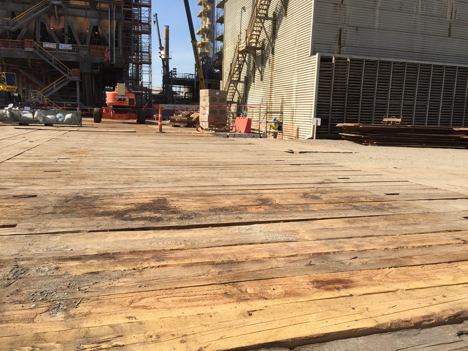 crane mat for oilfeild