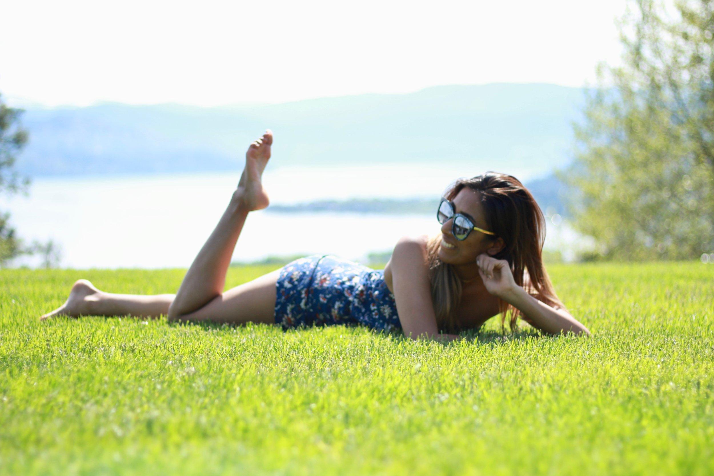 grass sunshine Kelowna