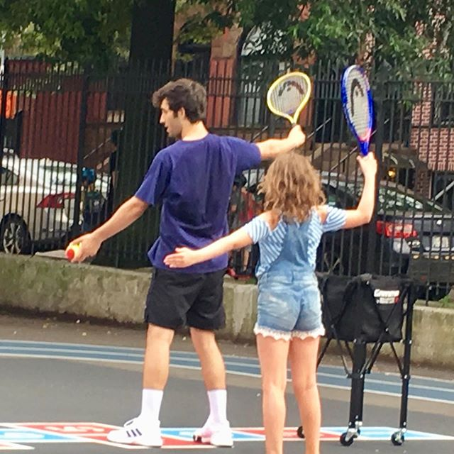 Sport of a Lifetime #kidstennis #tennis #futuretennisstar #tenniscoach #tgif #bepositive #usopen #brooklynkids #instakids #brooklynmoms #parkslope #parkslopeparents #netgeneration #brooklynheights #afterschoolprogram #gowanus #carrollgardens