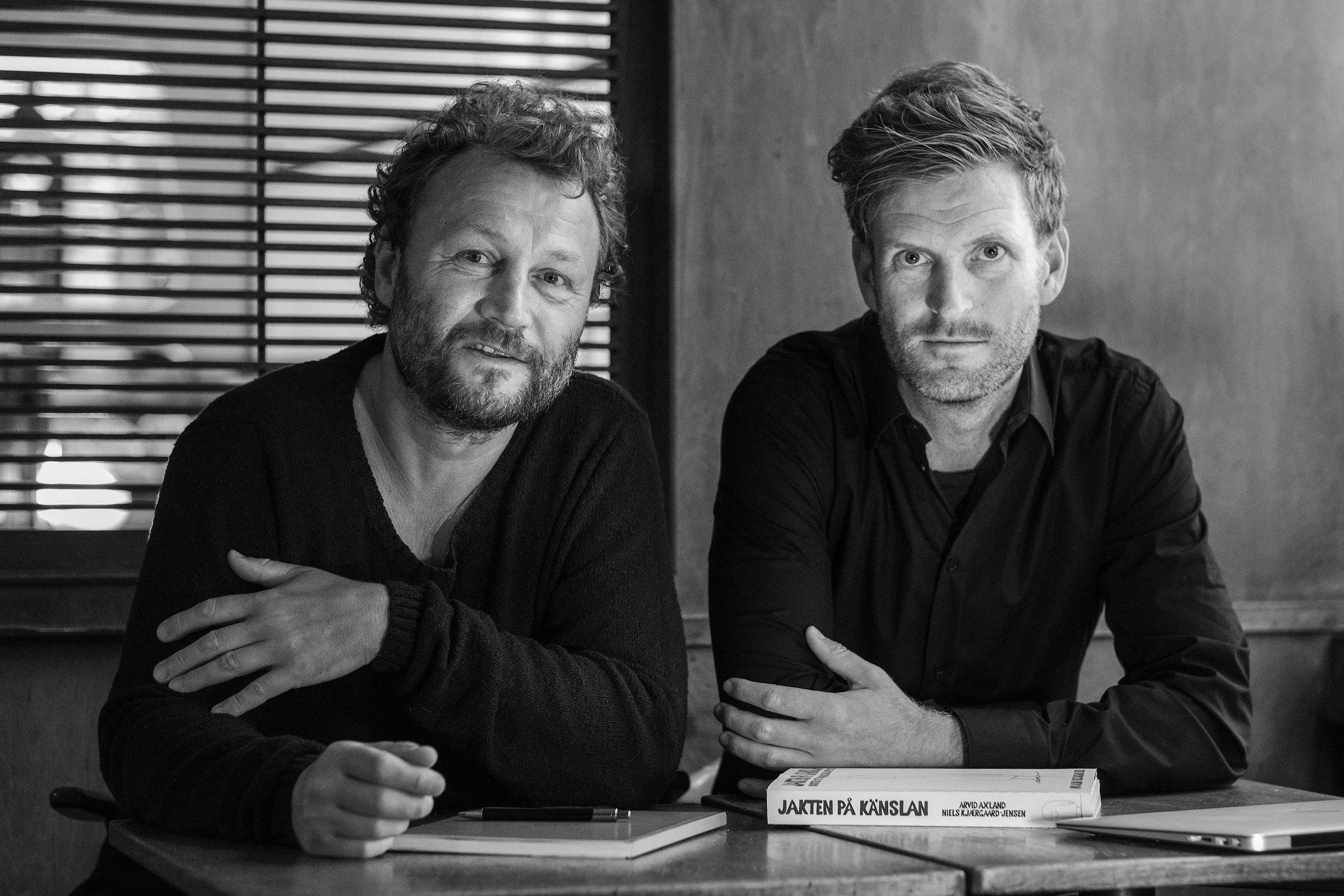 Niels Kjærgaard-Jensen och Arvid Axland. Läs mer om författarna  här !