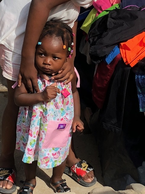 So many babies, little girls, teens and even some adult women received dresses made by people in our church, like Missy Sheffield, and others serving in different churches.
