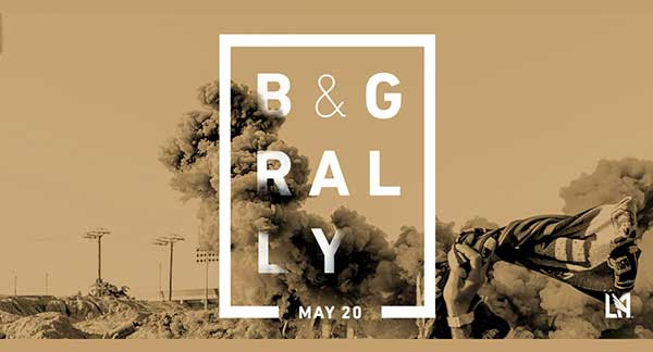 B&G RALLY   Join us for a Black & Gold Rally featuring major Banc of California Stadium announcements.  Saturday, May 20, 12 - 4pm.  Food trucks. Live art.  Make History.  647 Mateo St, Los Angeles, CA 90021