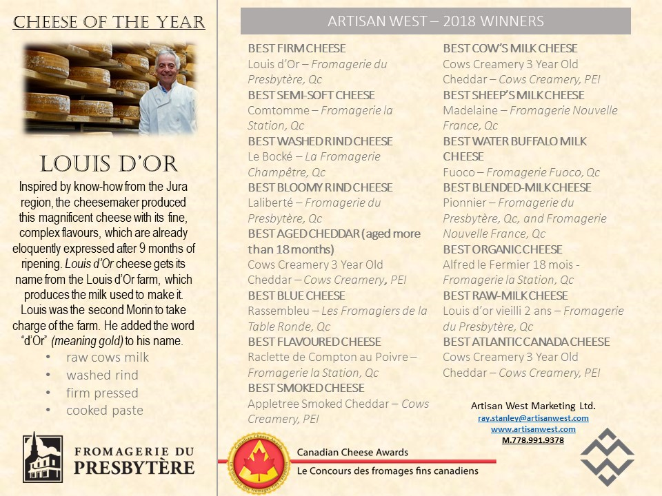 Our Winners 2018 Canadian Cheese Awards.jpg